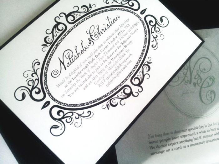 Luxury Wedding Invite