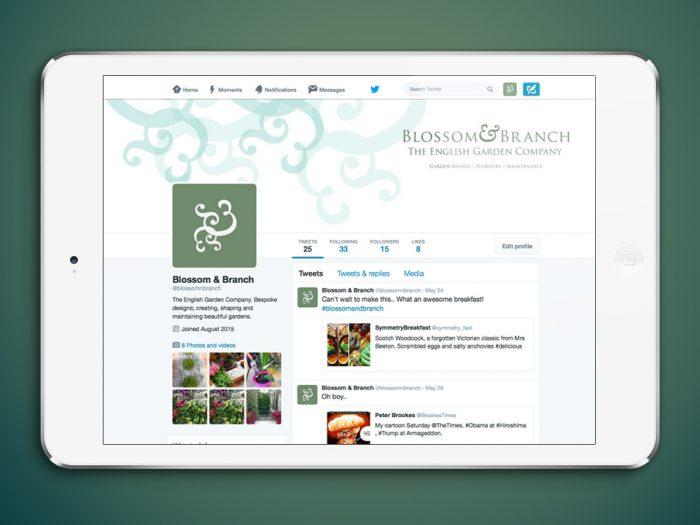 Blossom & Branch Twitter Profile